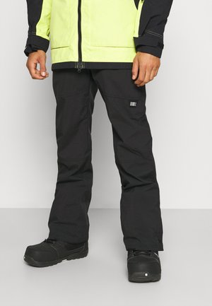 HAMMER SLIM PANTS - Talvihousut - black out