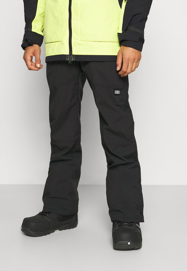 HAMMER SLIM PANTS - Pantalon de ski - black out