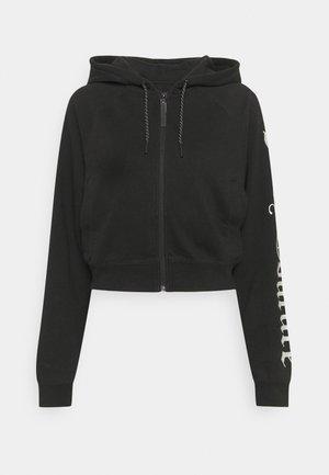GINA HOODIE - Zip-up hoodie - black