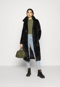 ONLY - LONG COAT - Classic coat - black - 1