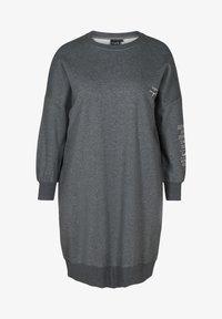 Active by Zizzi - WITH ROUND NECK - Day dress - dark grey - 4
