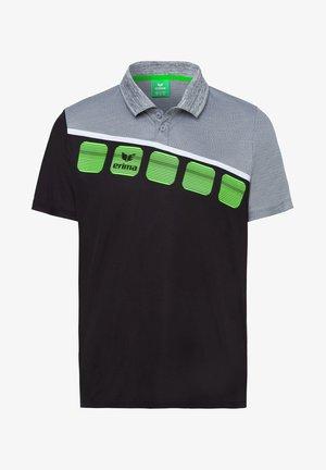 5-C POLOSHIRT KINDER - Polo shirt - black/grey