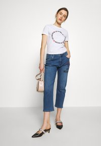 Love Moschino - Jean boyfriend - denim - 1