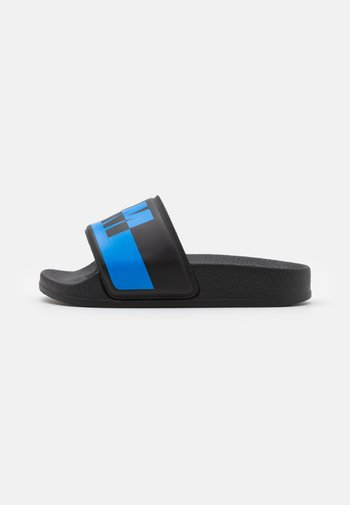 UNISEX - Mules - black/blue