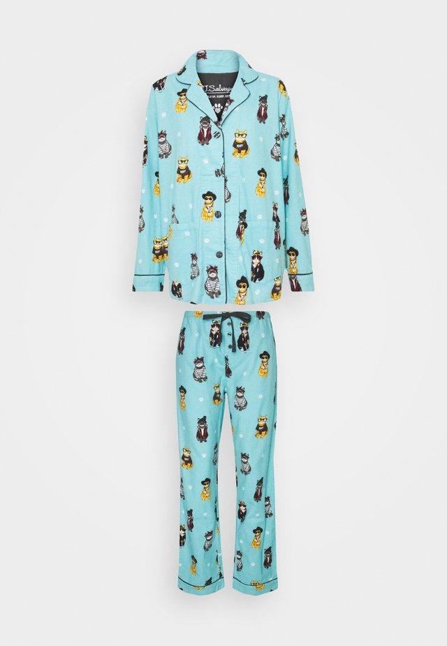 Pyjamas - aqua