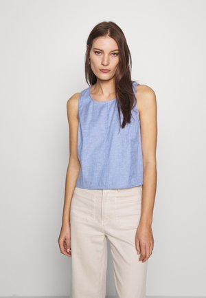 SHELL - Blouse - chambray blue