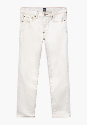 BOY SLIM - Slim fit jeans - white