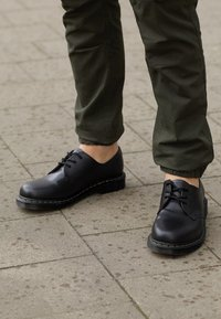 Dr. Martens - 1461 - Nauhakengät - black smooth - 4