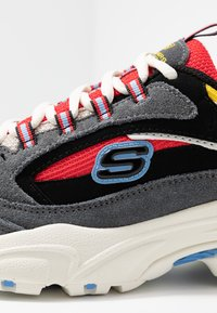 Skechers Sport - STAMINA - Trainers - charcoal/ red/yellow/ blue - 2
