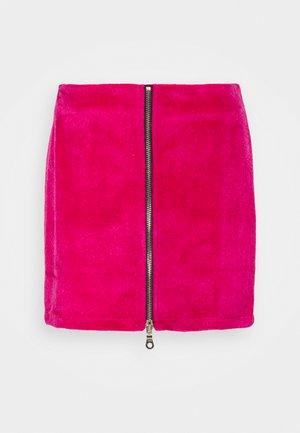 HOAX SKIRT - Mini skirt - pink