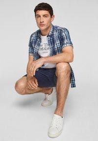 s.Oliver - Shirt - blue/white check - 5