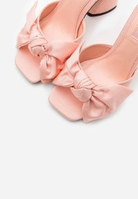 Topshop - SAUCY BOW MULE - Heeled mules - pink - 5