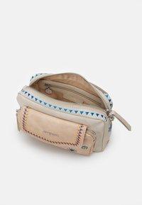 Desigual - CRISTAL MOON CAMBRIDGE MINI - Across body bag - beige roto - 2