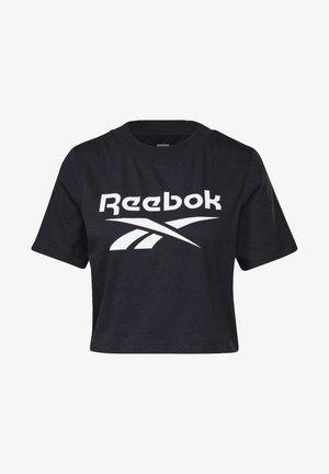 ELEMENTS REECYCLED WORKOUT - T-shirt z nadrukiem - black