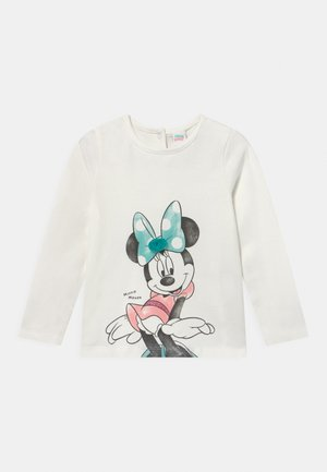 MINNIE PRINT - Long sleeved top - snow white