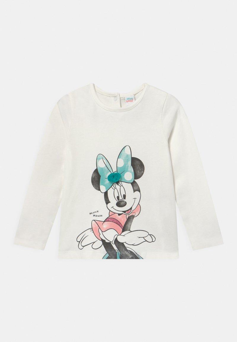 OVS - MINNIE PRINT - Long sleeved top - snow white