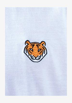 TIGER  - Print T-shirt - weiß