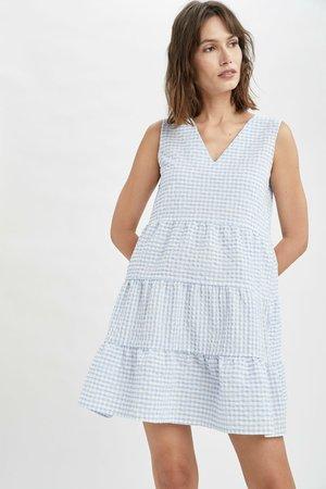 Shift dress - blue