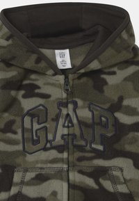 GAP - HOOD - Fleecejas - black moss - 2