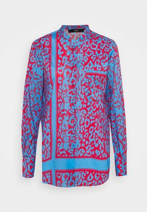 LOULOU SUMMER BLOUSE - Chemisier - blue