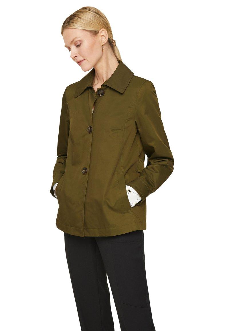 comma - Light jacket - deep green