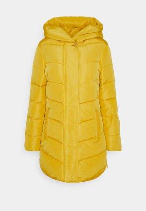 WINTERLY PUFFER COAT - Zimní kabát - california sand yellow