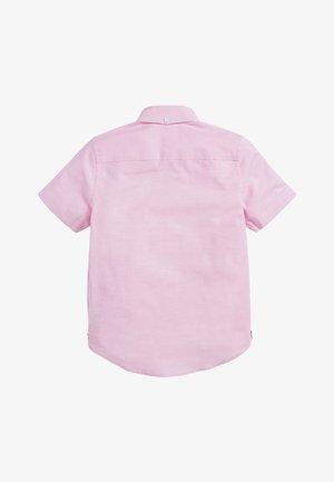 PINK SHORT SLEEVE OXFORD SHIRT (3-16YRS) - Shirt - pink