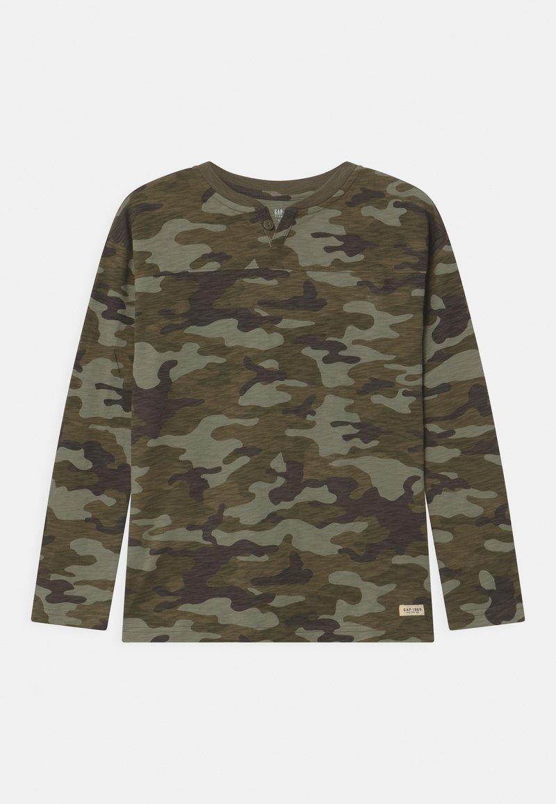 GAP - BOY - Long sleeved top - green