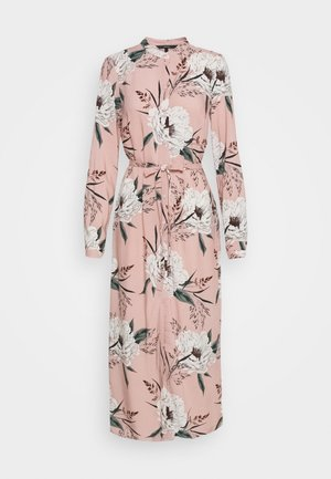 VMSIMPLY EASY LONG DRESS - Sukienka koszulowa - misty rose