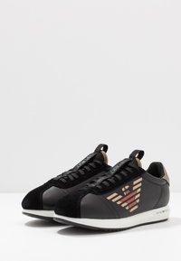 Emporio Armani - Sneakers - black/gold - 2