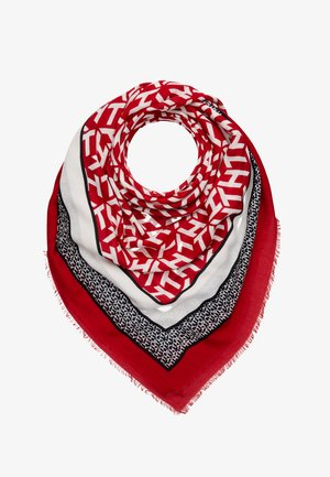MONOGRAM FRAME SQUARE - Foulard - red