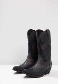 Kentucky's Western - Cowboy/Biker boots - natural/piedra - 2