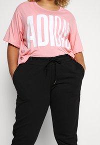 adidas Performance - PANT - Teplákové kalhoty - black/white - 3