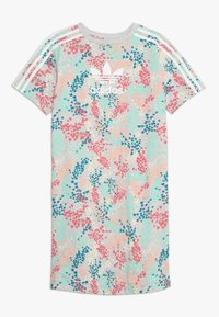 adidas Originals - TEE DRESS - Jerseyklänning - multicolor/white - 0