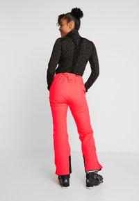Halti - PUNTTI SKI PANTS - Snow pants - neon fiery coral - 2