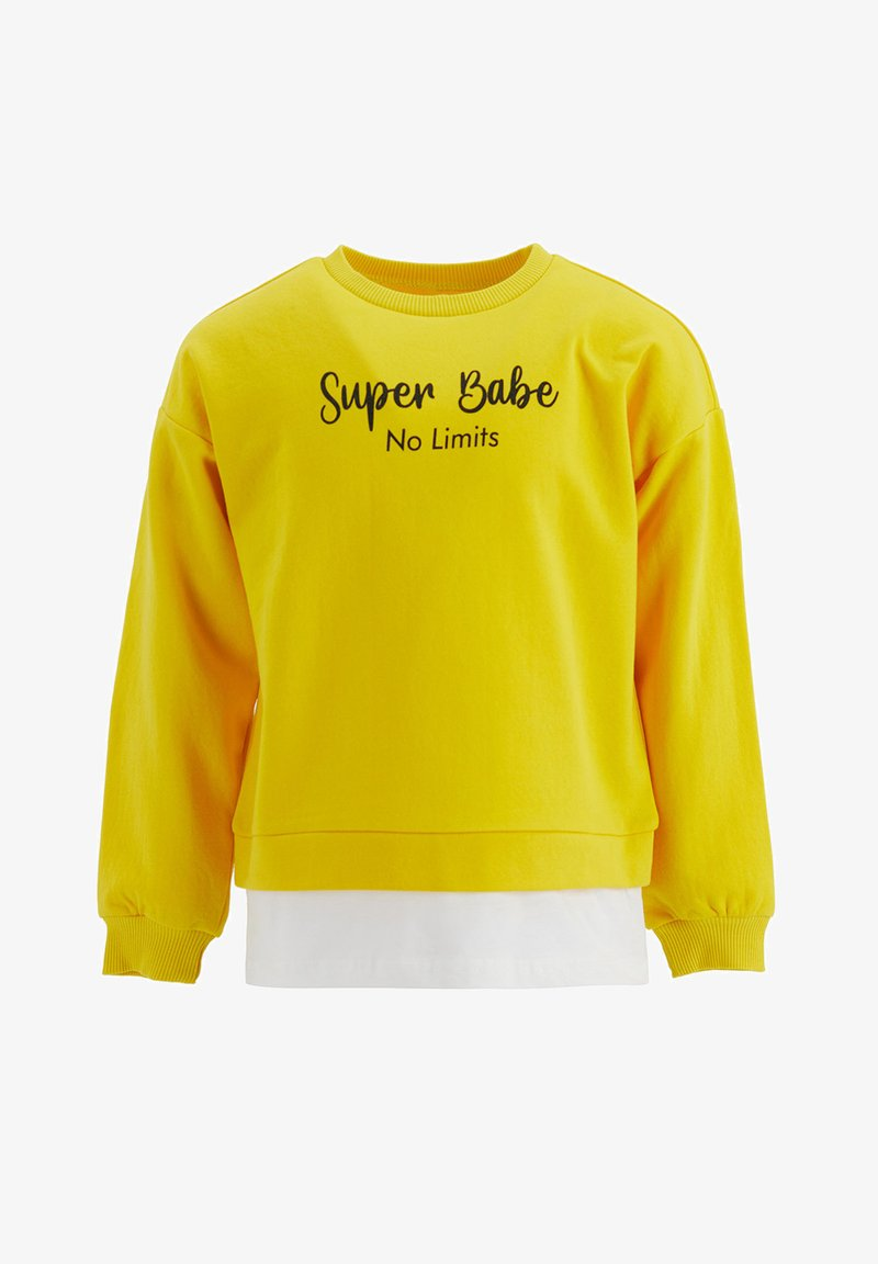 DeFacto - Sweatshirt - yellow