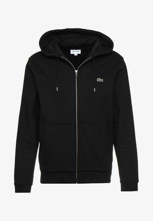 veste en sweat zippée - noir