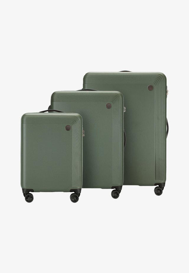 Luggage set - green