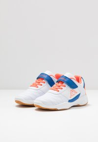 Kappa - DROUM II UNISEX - Sports shoes - white/coral - 3