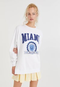 PULL&BEAR - Sweatshirt - white - 0