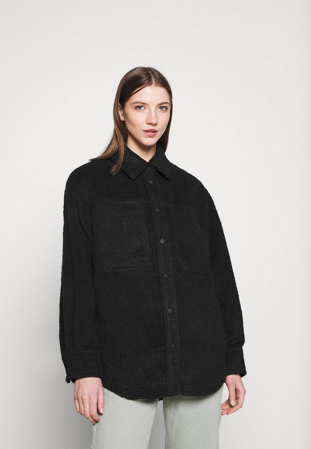 OVERSHIRT - Short coat - navy
