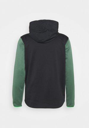 STORM 1/2 ZIP HOODIE - Sweater - black