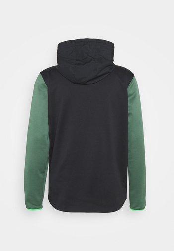 STORM 1/2 ZIP HOODIE - Sweatshirt - black