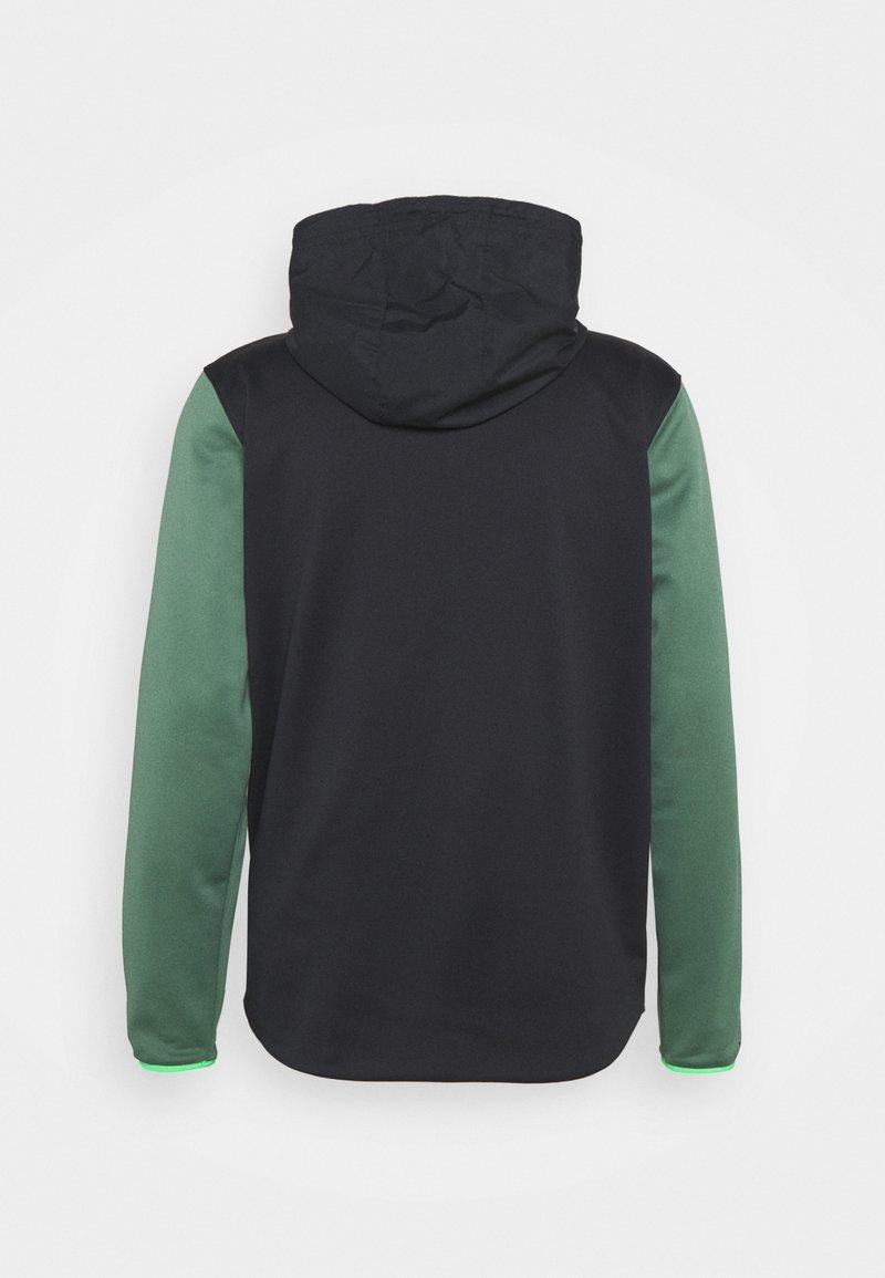 Under Armour - STORM 1/2 ZIP HOODIE - Sweatshirt - black