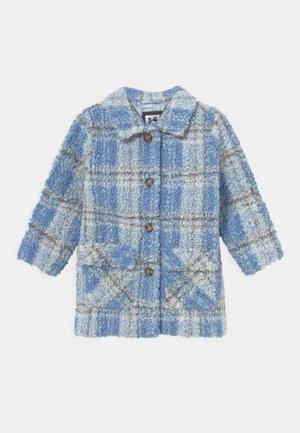 CECILIA CHECK - Short coat - dusk blue
