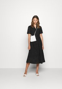 YAS - YASHOLI LONG  SHIRT DRESS  - Robe longue - black - 1