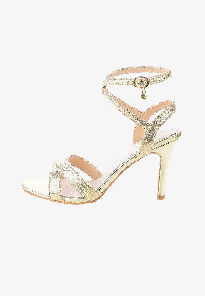 PRIMA MODA - CERSUTA - Korolliset sandaalit - platinum