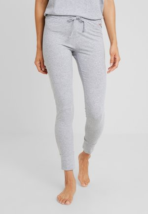 LEGGINGS - Pyjama bottoms - grey melange