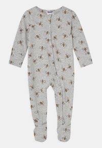 Cotton On - THE LONG SLEEVE ZIP UNISEX - Sleep suit - cloud - 0