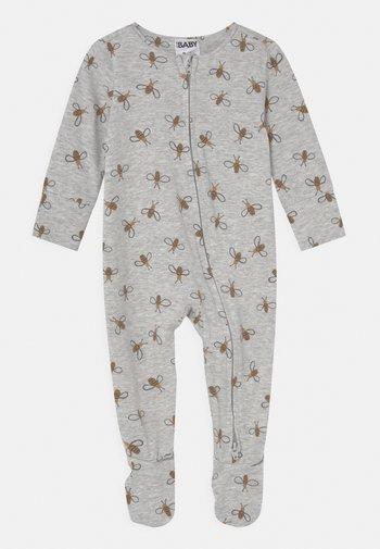 THE LONG SLEEVE ZIP UNISEX - Sleep suit - cloud